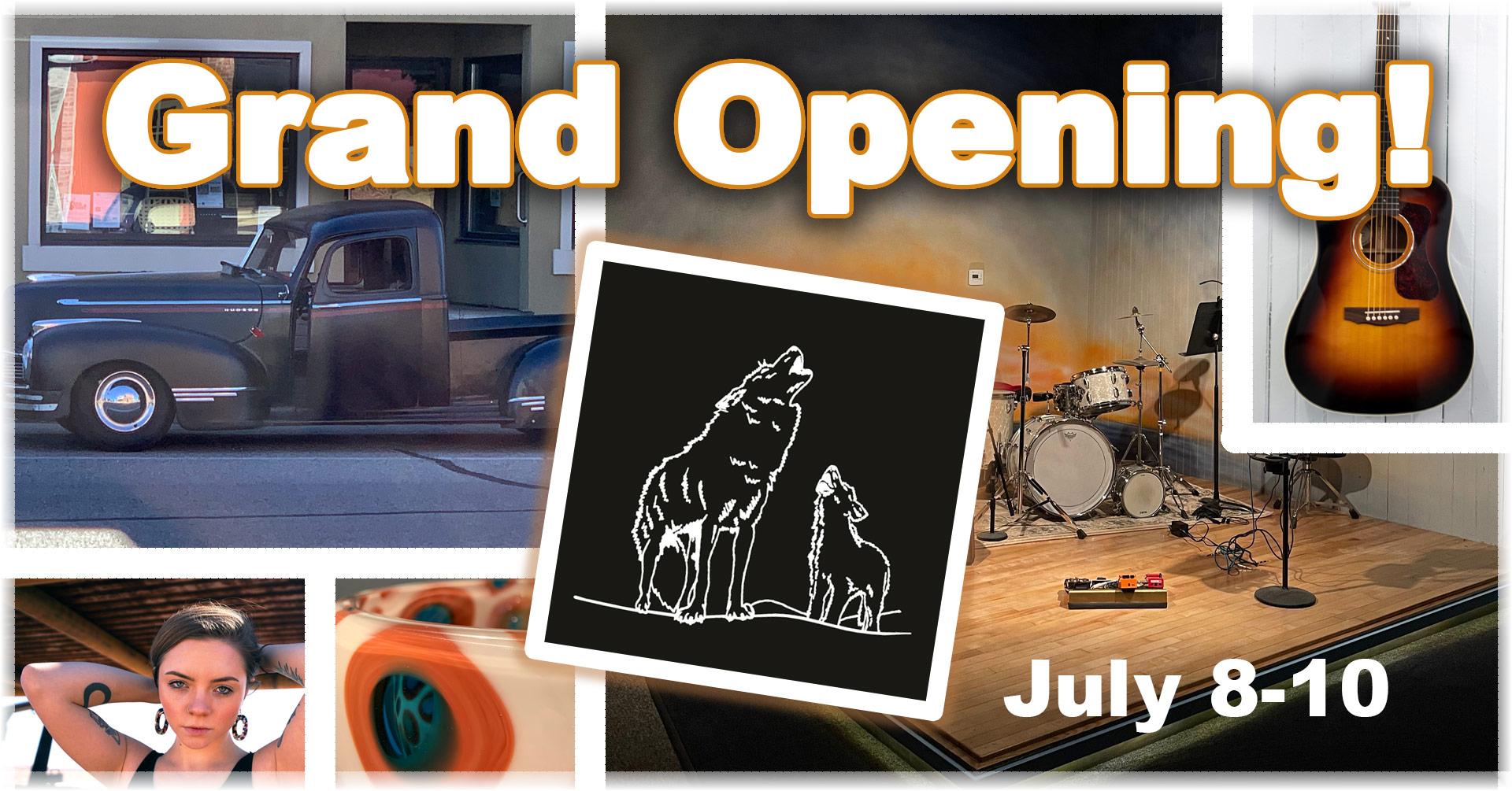 LittleWolf Grand Opening