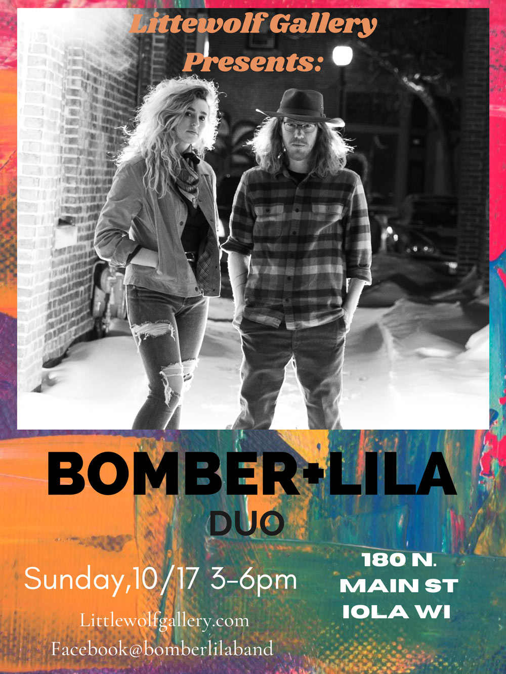 Bomber Lila At LittleWolf Gallery